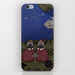 Tea for Two (2) iPhone Skin