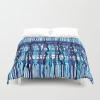 jack frost Duvet Covers featuring Frost by Irina  Mushkar'ova