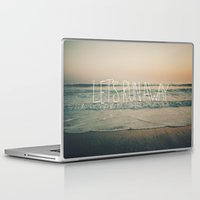 leah flores Laptop & iPad Skins featuring Let's Run Away by Laura Ruth and Leah Flores by Leah Flores