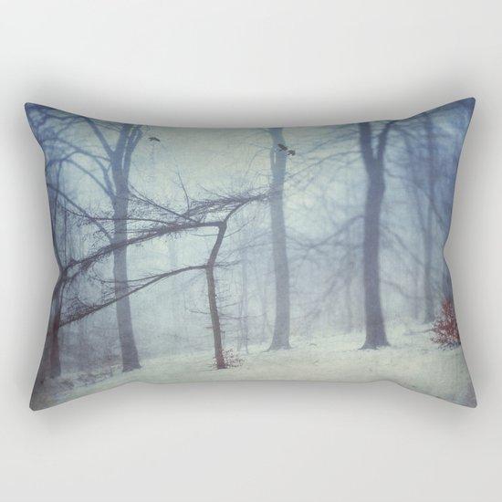 Faint Forest Rectangular Pillow