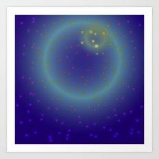 Cosmic fantasy Art Print