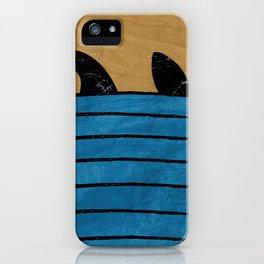 Fins iPhone Case
