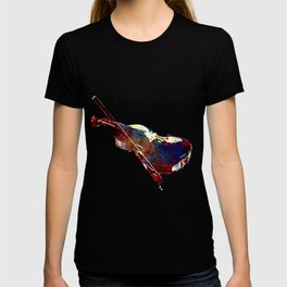 Sounds of music. Violin. T-shirt