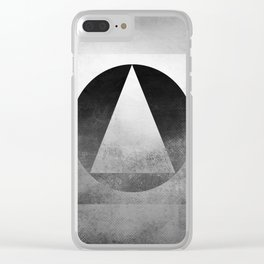 Suprematist Composition V Clear iPhone Case