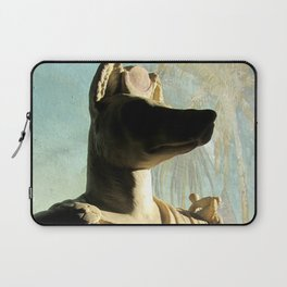 Gone to meet Anubis. Laptop Sleeve