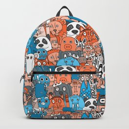 plushies retro Backpack