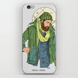 Jesus from New York iPhone Skin