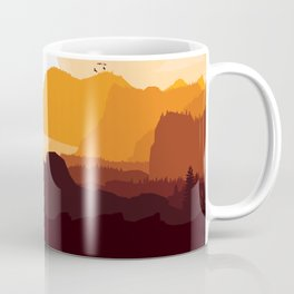 Flying House Coffee Mug