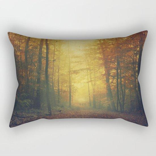 Autumn Morning Mood Rectangular Pillow