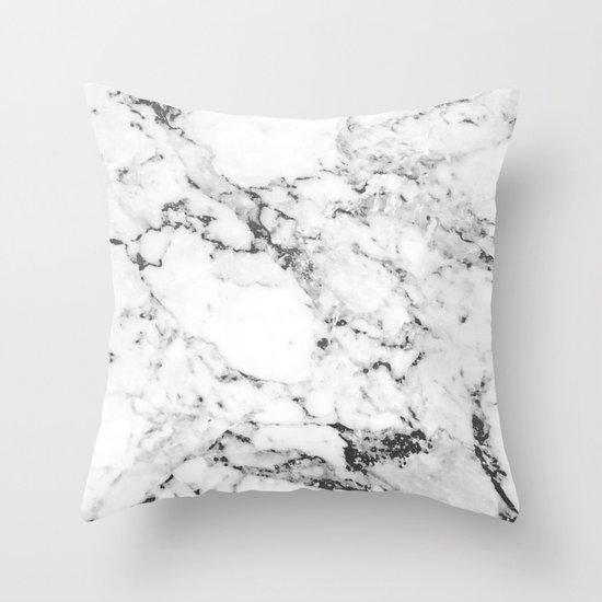 Marble Throw Pillow