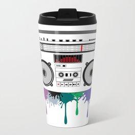 C13D Music Boombox 2 Metal Travel Mug