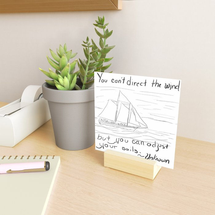 Adjust Your Sails Mini Art Print
