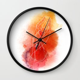 Rescue Jellyfish Wall Clock