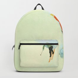 Skiing at High Speeds Backpack