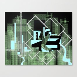 FUTURE FORMS OF EARTH (an adventure in living-architecture) Canvas Print
