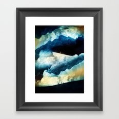 State of isolation Framed Art Print
