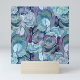 Blue Sedums Mini Art Print