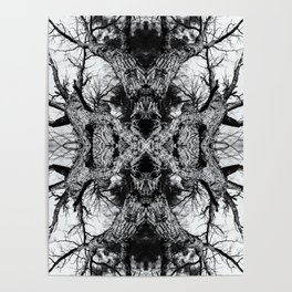 Gnarled Sleep of Forest Giant Poster