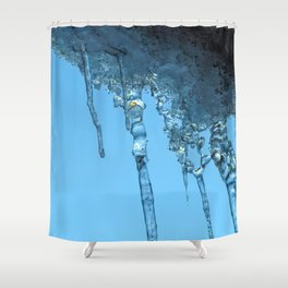 Ice Photo 2 Shower Curtain