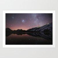 Moke Lake Art Print