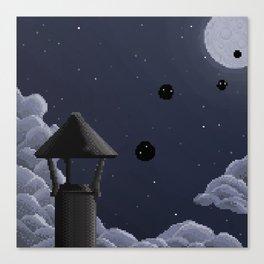 Pixel | Soot Sprites Canvas Print