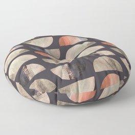 Mid-Century Modern Geometic Floor Pillow