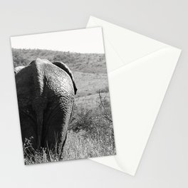 Elephant in Africa Stationery Cards