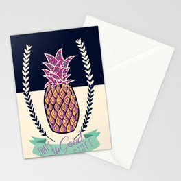 pineapple stuff Stationery Cards