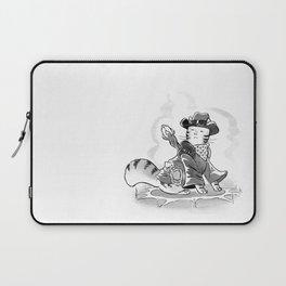 Cowboy Mage Kitty Laptop Sleeve