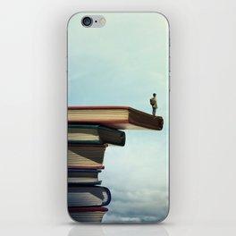 knowledge iPhone Skin