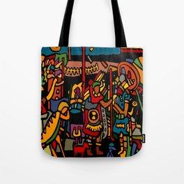 pre columbian king Tote Bag