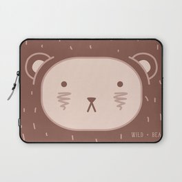 WILD + BEAR print Laptop Sleeve