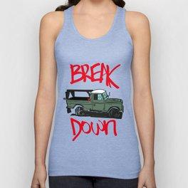 BREAK IT DOWN Unisex Tank Top