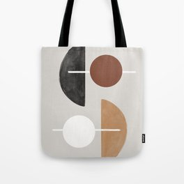 Moon and Sun Abstract Tote Bag