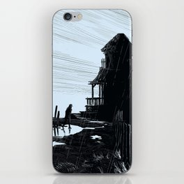 Weatherman (Blue Variant) iPhone Skin