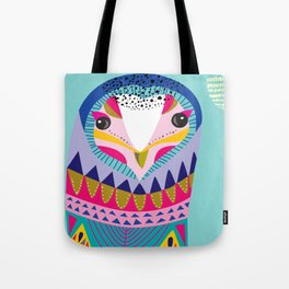 Mr Owl Tote Bag