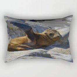Just Kickin It Rectangular Pillow