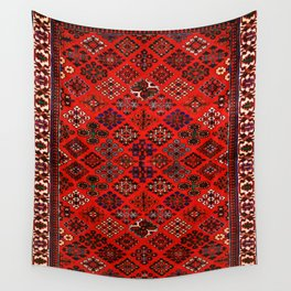 -A30- Red Epic Traditional Moroccan Carpet Design. Wall Tapestry