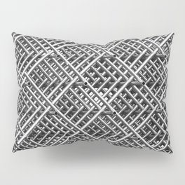 The Grid Pillow Sham