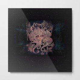 Lulu the Mermaid Metal Print