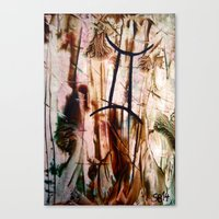 gemini Canvas Prints featuring Gemini  by Stina ART de Luna