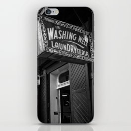 Washateria iPhone Skin