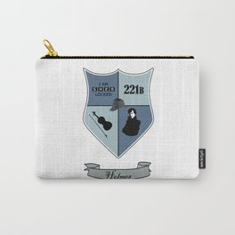 Sherlock Coat of Arms Carry-All Pouch