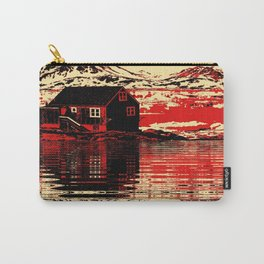 House on the Fjord Carry-All Pouch