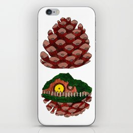 Home Sweet Pinecone iPhone Skin