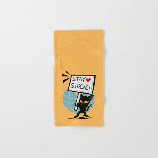 Stay strong Hand & Bath Towel