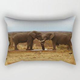 lovely elefants Rectangular Pillow