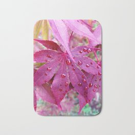 Red Maple Tree Bath Mat