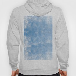 Blue abstract of condensation water flowing down Hoody