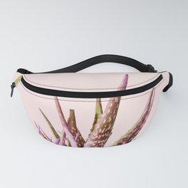 Duotone Aloe Vera on pastel Coral Fanny Pack
